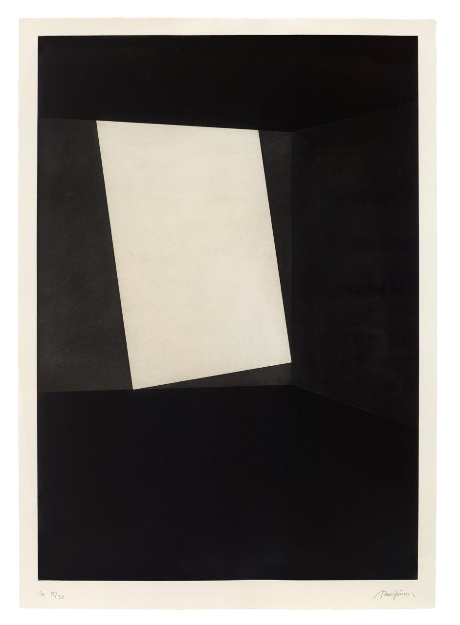 James turrell prints hiram butler gallery - Butlers decke ...