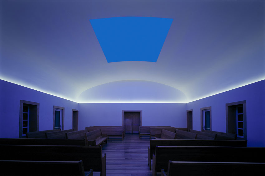 James Turrell - Live Oak Friends Meeting House | Hiram Butler Gallery: hirambutler.com/artists/james-turrell/live-oak-friends-meeting-house