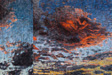 Amagansett Diptych, 2007-8 oil on canvas diptych 96 x 96 each, 96 x 192 total