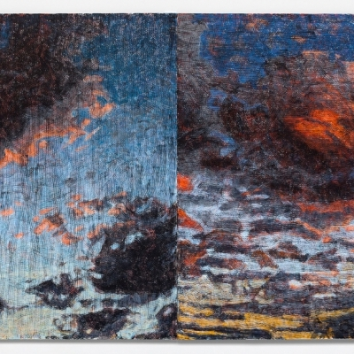 JENNIFER BARTLETT: Two Paintings