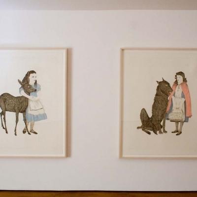 KIKI SMITH - Selected ULAE Prints