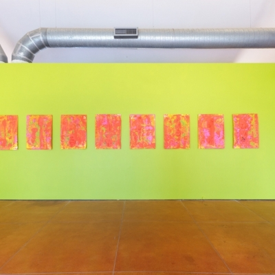 MICHAEL TRACY DEVI: Eight Paintings on Paper