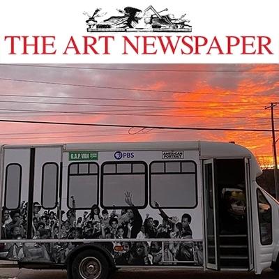 Rick Lowe's collaborative G.A.P. Van is part of American Portraits initiative