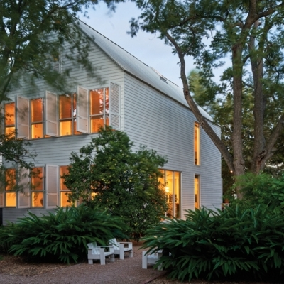 Hiram Butler's house and gallery featured in TX Architects Magazine