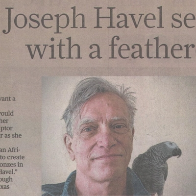 Joseph Havel Asia Society Texas exhbition reviewed in the Houston Chronicle